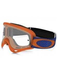 Goggle XS O frame Shockwave Orange bluee OO7030-06 Oakley Kinder Motocross Brillen