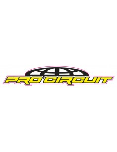 Decal Logo Pro Circuit 3 pz AdesPRoCirc Brand sticker