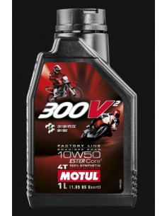 MOTUL 300V2 Factory Line 10W50 108586 Motul Motocross Engine Oil