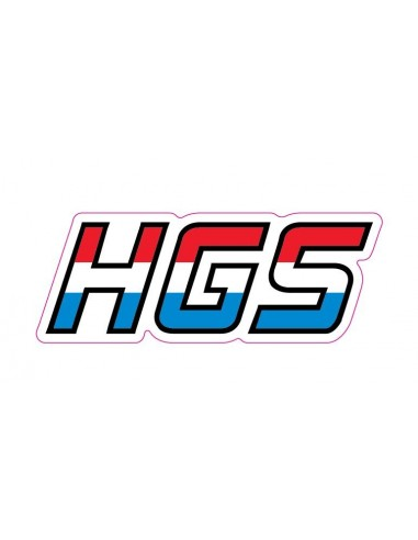 Decal Logo HGS 3 pz AdesivoHGS Brand sticker
