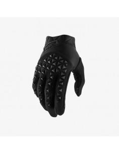 Gloves 100% Airmatic Black-Charcoal 4599 100% Gants cross