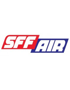 Decal Logo SFF Air SFFAIR Sponsoraufkleber